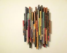 Book Spine Art