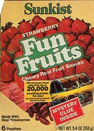 Fun Fruits. I can still remember the taste.