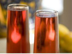 Champán de cereza. Cherry champagne