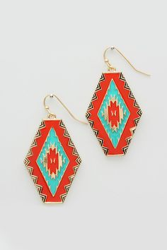 Fiery Seraphine Earrings