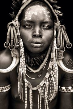African Portrait by