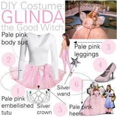 Glinda the Good Witch ---costume ideas