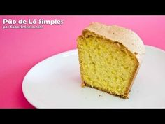 ▶ Receita de Pão de Ló Simples - YouTube