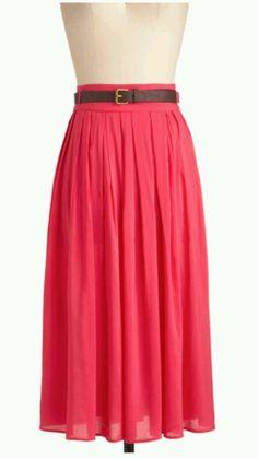 Modest skirt.