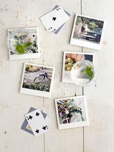 Ceramic Photo Coasters
