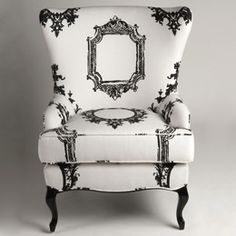 """""""Through the Looking Glass"""" chair"""