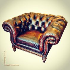 chesterfield chair @