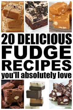 If you love fudge as