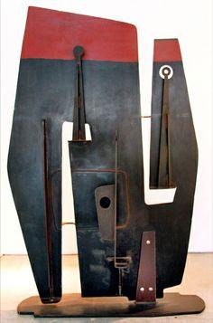 Metal sculpture by John-Paul Philippe