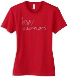 A Red Store - Buy Red Women's Keller Williams T-Shirts Online