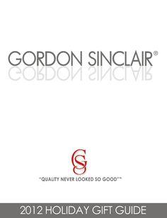 Gordon Sinclair Gift Guide 2012