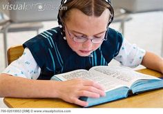 Image detail for -Hutterite Girl Reading Book at School, Silver Sage Colony, Alberta ...