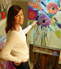 Creativity - In the Studio With Artist Erin Gregory - The Southern C, southern recipes,travel and southern cuisine