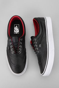 Vans Leather Era Wingtip Sneaker    Beautiful!