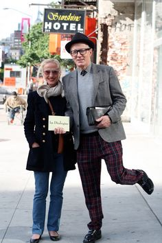 ADVANCED STYLE: 20 Of The Most Stylish Senior Couples Ever