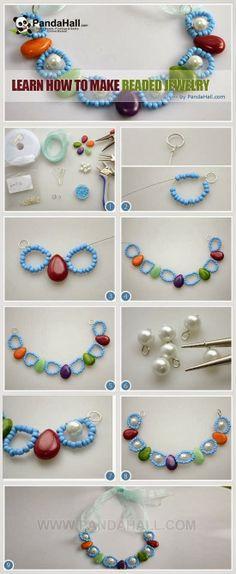 My DIY Projects: Make Beautiful Beaded Jewelry