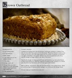 Excellent with some cheese and chicken. MORE RECIPES: http://itsh.bo/LQC1sC #gameofthrones #food #bread #recipes