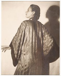 Citation: Louise Nevelson, ca. 1931 / unidentified photographer. Louise Nevelson papers, Archives of American Art, Smithsonian Institution.