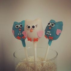 birthday idea, cake pops, babi, cakepop inspir, owl cakes, owls, elli parti