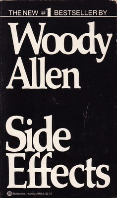 Side Effects, by Woody Allen | 32 Books Guaranteed To Make You Laugh Out Loud