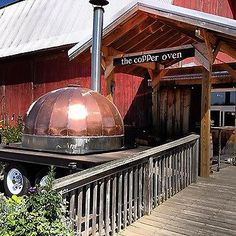 The Copper Oven -- Mobile oven