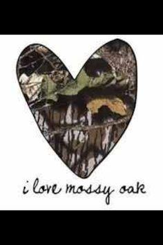 I love mossy oak