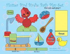 Baby Bird Bath Playset