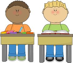 Students from MyCuteGraphics student, clipart, school kids, clip art school