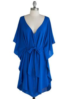Blue and Me Forever Dress, #ModCloth