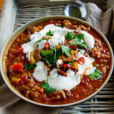 Spicy Lamb Lentil Soup soups, lentil soup, lamb amp, spici lamb, food ...