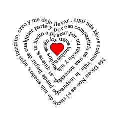 mensaje corazón