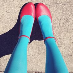 It's almost that time... for colorful tights!