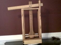 A simple Dutch style lever press that people can make for homestead use.  Plans are on the site.