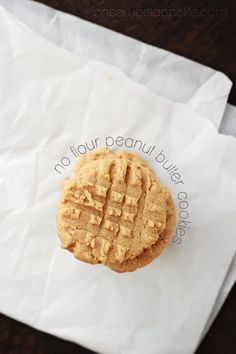 no-flour-peanut-butter-cookies