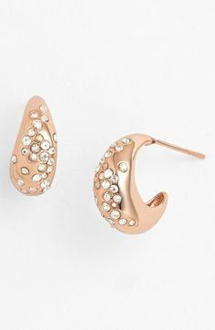 Love everything Alexis Bittar does. These are so pretty in rose gold.