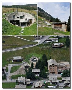 The Hobbit House stands in Switzerland, near the famed Vals thermal baths. The building was supposedly built this way -- sunk into the mountain -- so as not to disturb the natural environment ...    The home is only accessible via a secret entrance in a nearby barn or by, you know, walking up to the big conspicuous hole in the ground and jumping in.