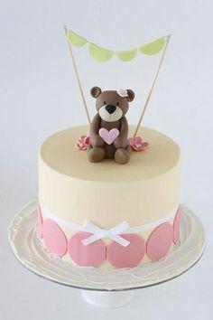 Girl's birthday cake