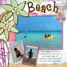 layouts and ideas  #scrapbooking