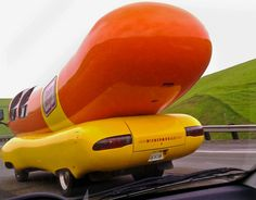 HOTDOGGER BLOG - Life Inside the Wienermobile Vehicle