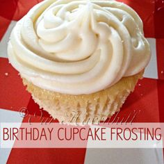 Recipe: Healthy Smash Cake for Baby's 1st Birthday frostings, cupcak buttercream, smash cakes, birthday cupcakes, frosting recipes, 1st birthdays, cupcake frosting, buttercream frosting, birthday cakes