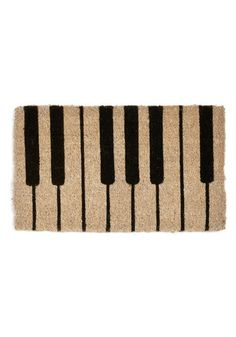 """Keys to the Kingdom Doormat"" I love this piano doormat!!!"