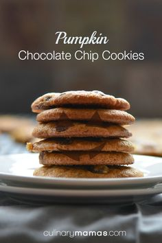 This pumpkin chocolate chip cookie is different. It has the consistency of a cookie, not a muffin and it's the better for it.