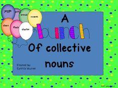 Collective Nouns - 2nd Grade Common Core Standard