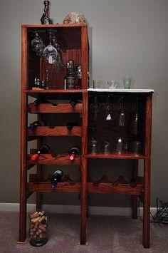 wine storage/cabinet