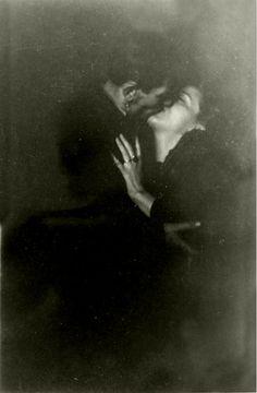 a vintage kiss