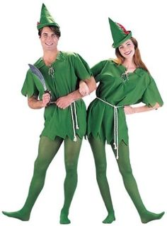 ORIGINAL Adult Peter Pan Costume - Also fun for Santa Helpers (Tights included) --- http://rews.us/106