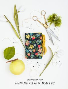 DIY: Make an iPhone case & wallet