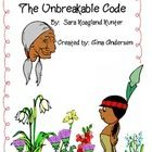 """This packet is a Fifth Grade Treasures Resources for """"The Unbreakable Code"""".  These resources compliment 5th grade Treasures (Unit 5 Week 4) """"The U..."""