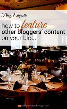 How bloggers should share other bloggers' content. Blog Etiquette #blogtip