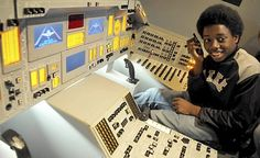 Fort Snelling shuttle simulator